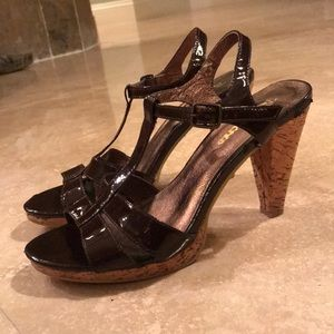 Brown Sandal Heels